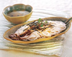 Rice Vermicelli In Oyster Sauce
